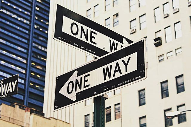 One way to go #newyork #city