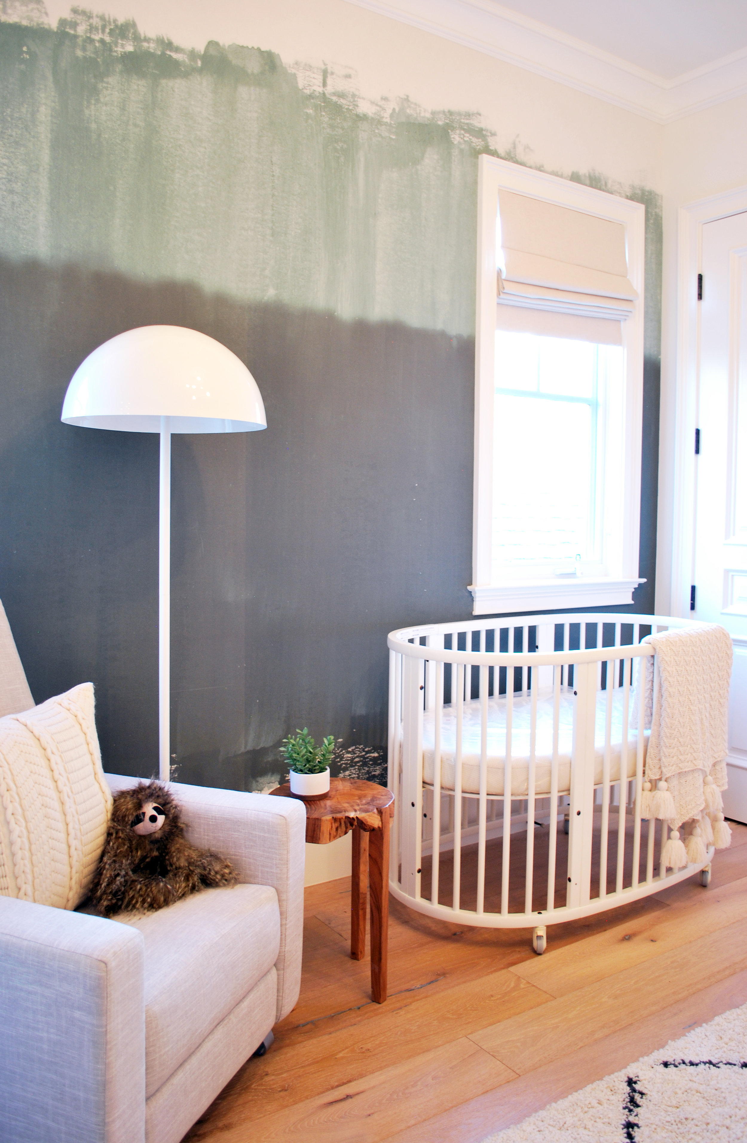 Casey Mason Interiors | Jungle-y Modern Nursery