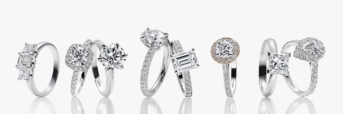 The Largest Selection of Engagement Rings
