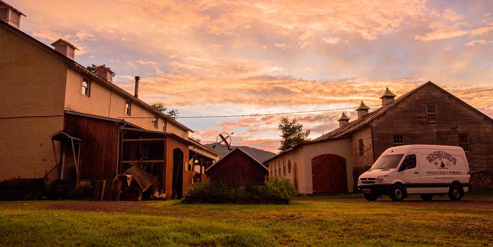 A Sperrvyille sunset