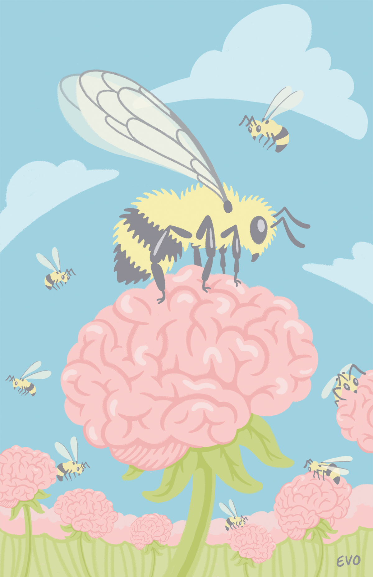Hive Mind Print