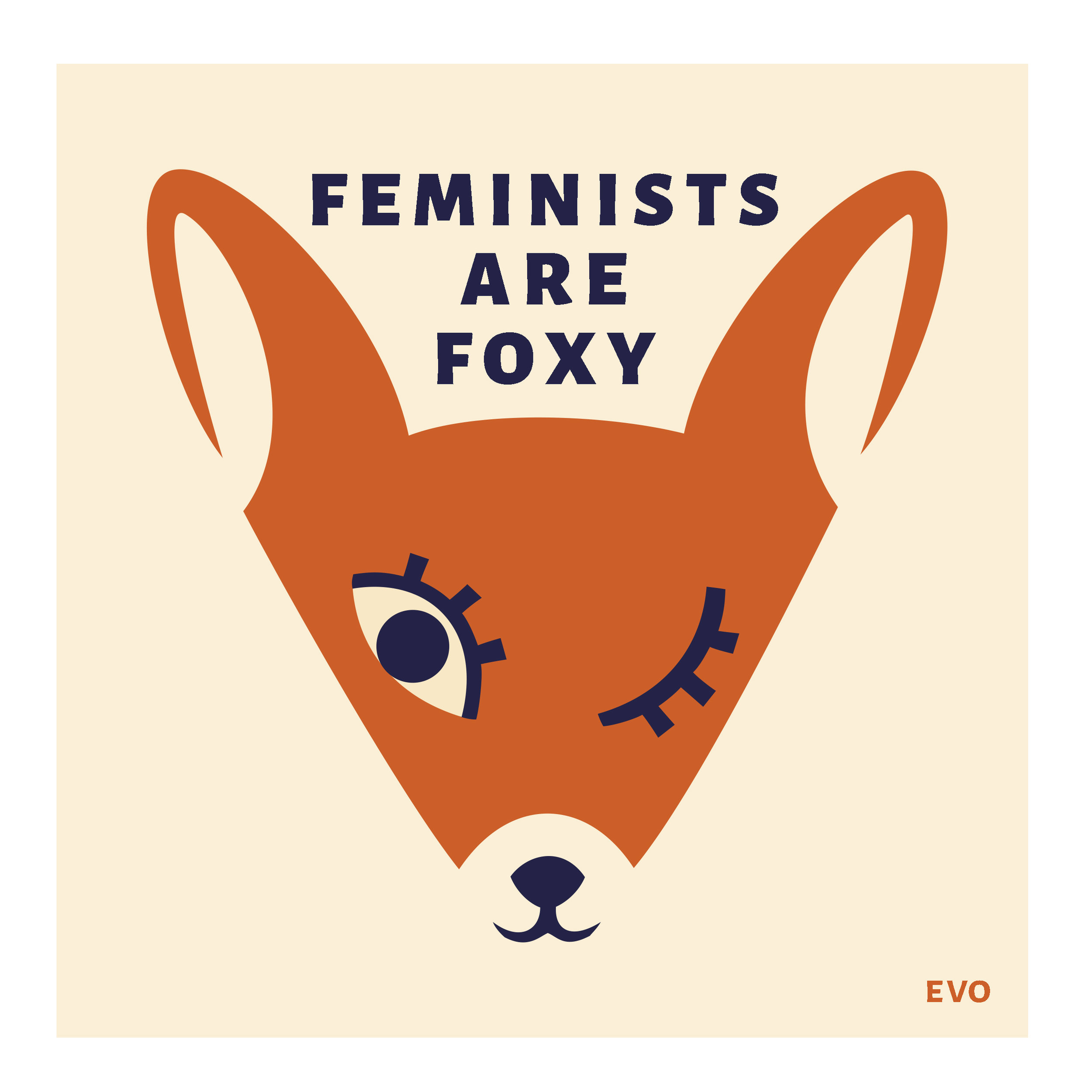 Feminists Are Foxy Color NEW RGB.jpg