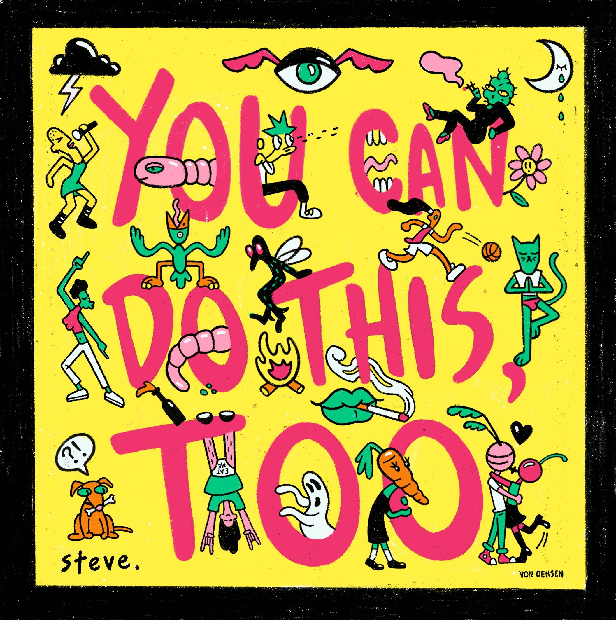 Steve. Album Cover