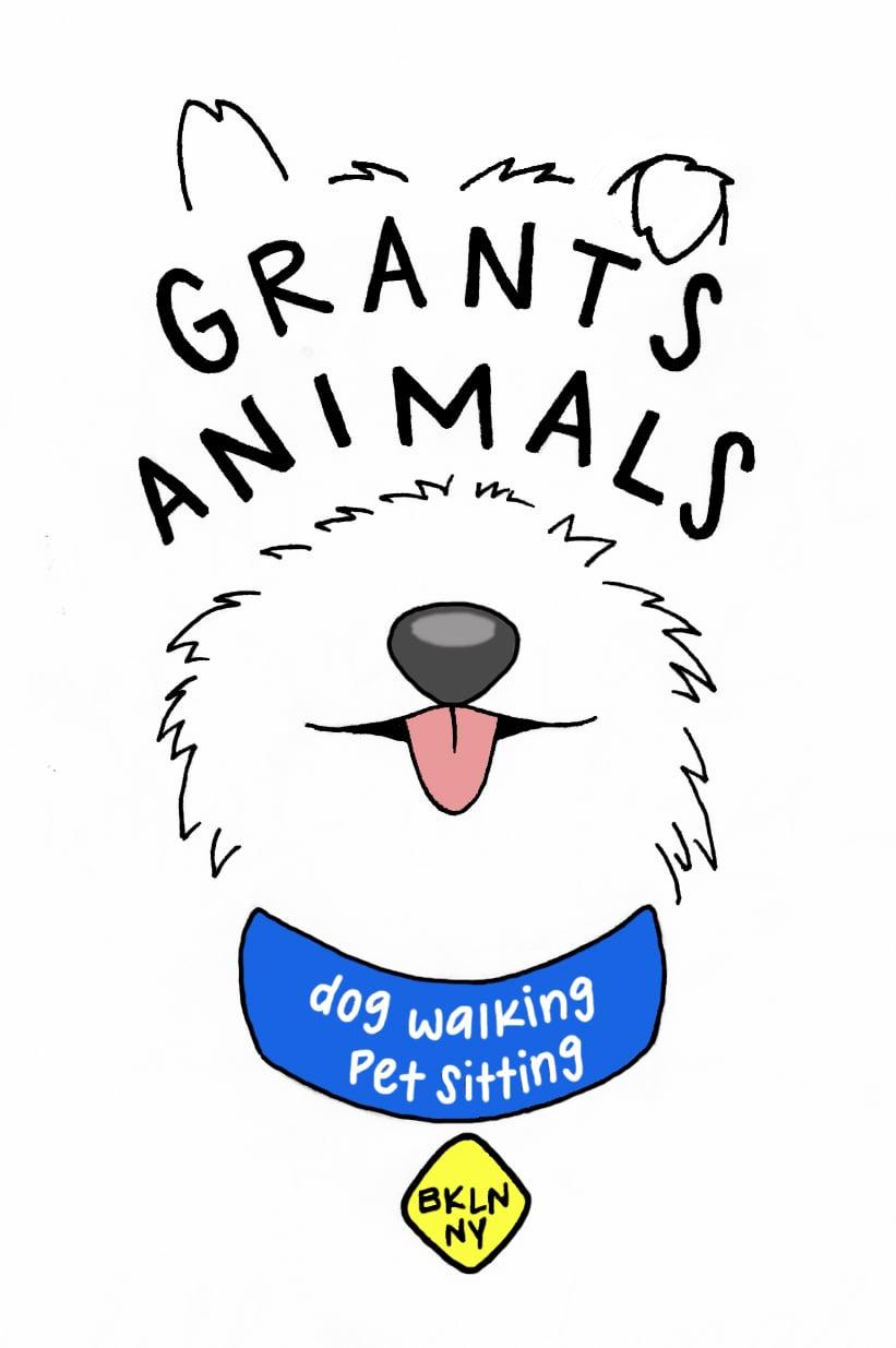 Logo for Dog Walking Business