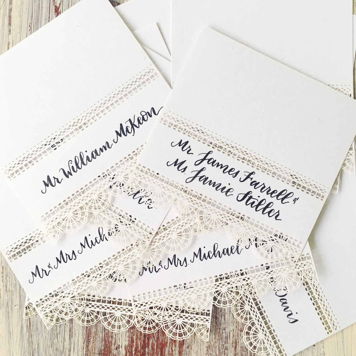 Traditional Place Cards