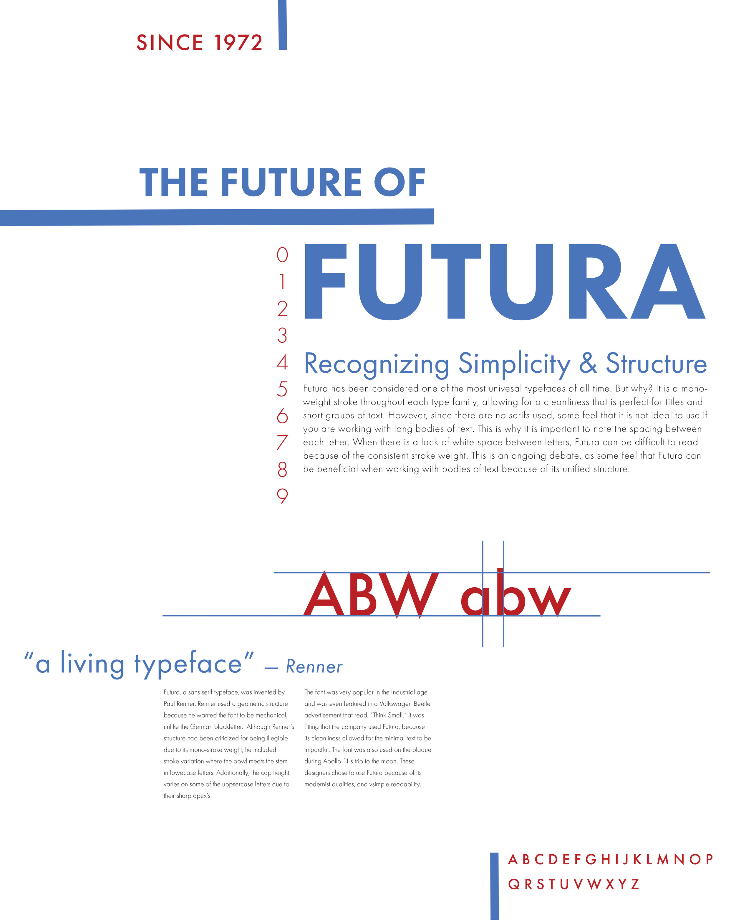 Futura - Typography Final Project
