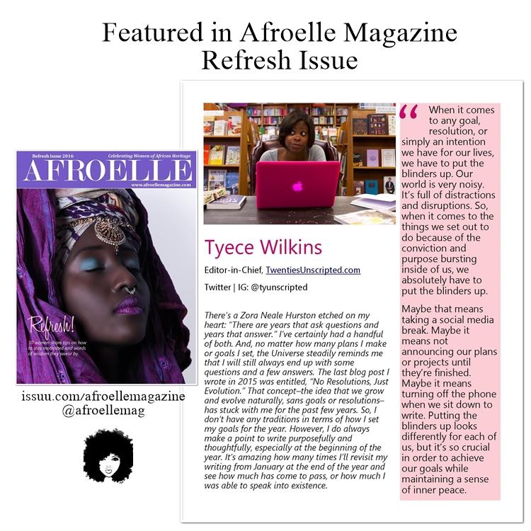 Afroelle Magazine, February 2016