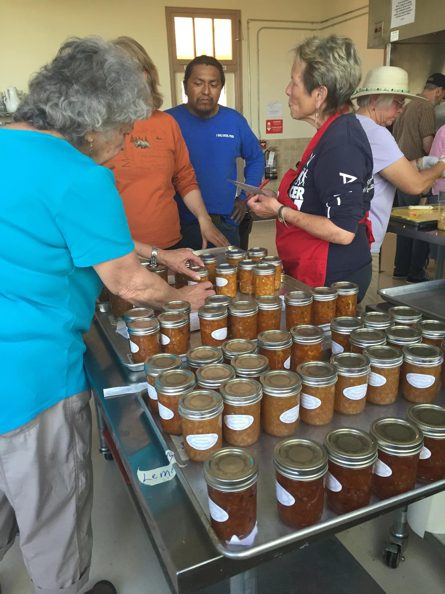 A marmalade workshop with the Ajo Center for Sustainable Agriculture