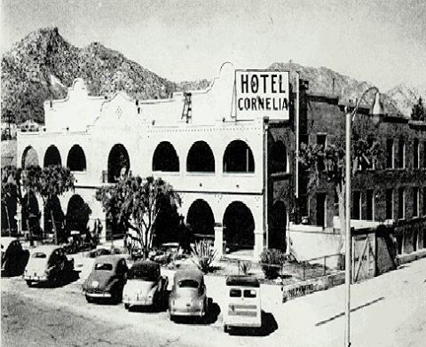 The Hotel Cornelia, now a private residence