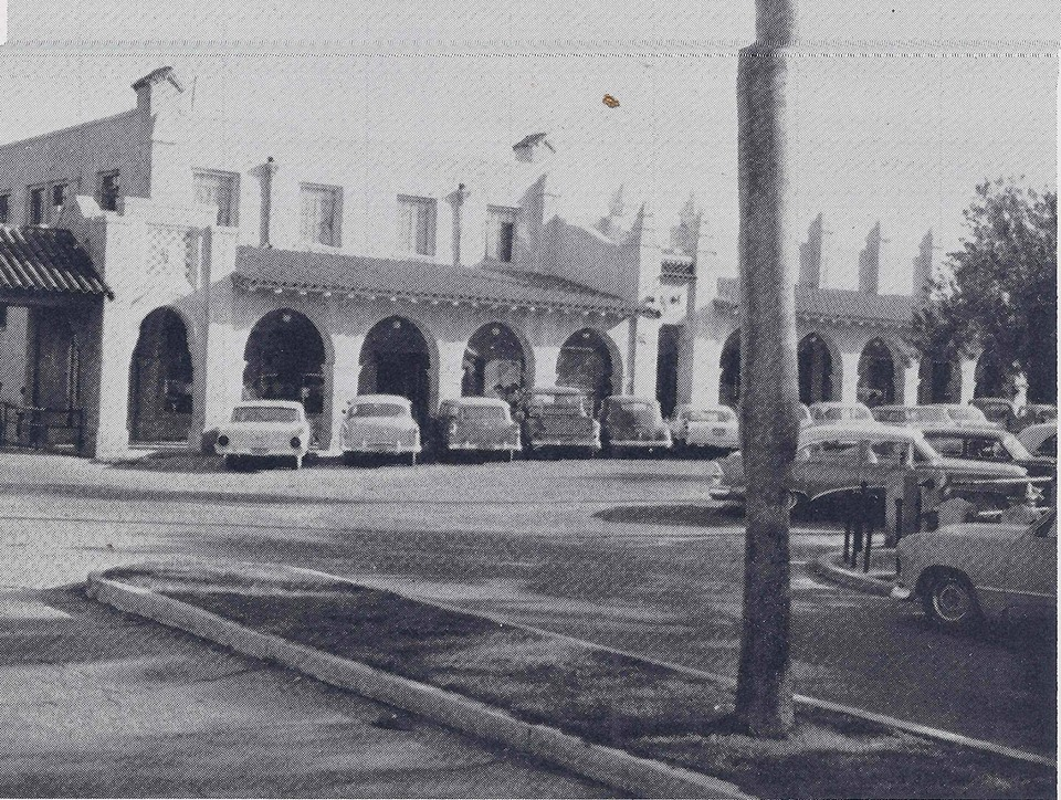 The old Company Store in the Ajo Plaza