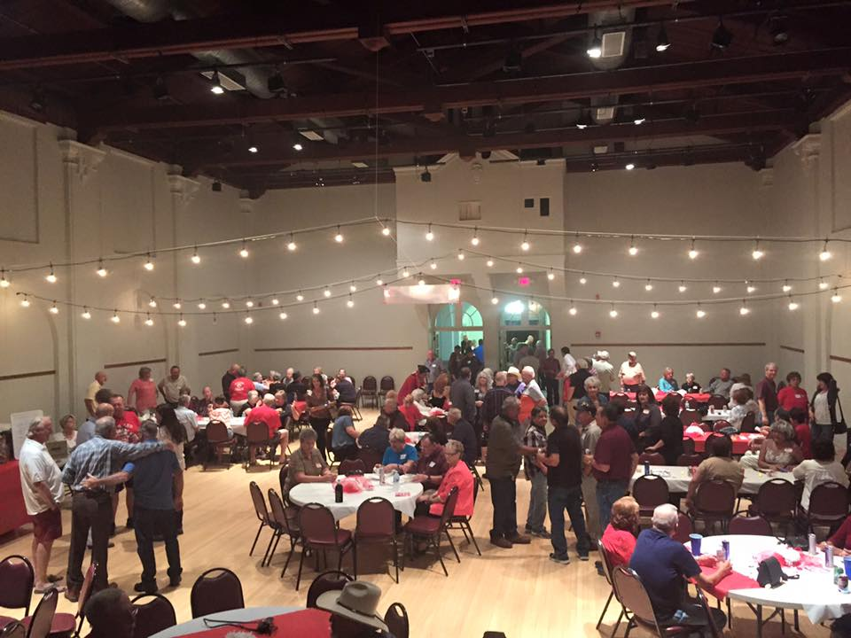 """Red & White Weekend"", the annual all-Ajo reunion event, in the Curley School Auditorium"