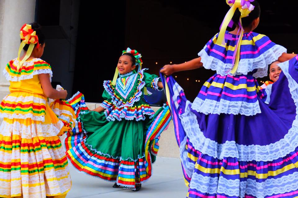 A Ballet Folklorico de Ajo performance for Conference Center guests