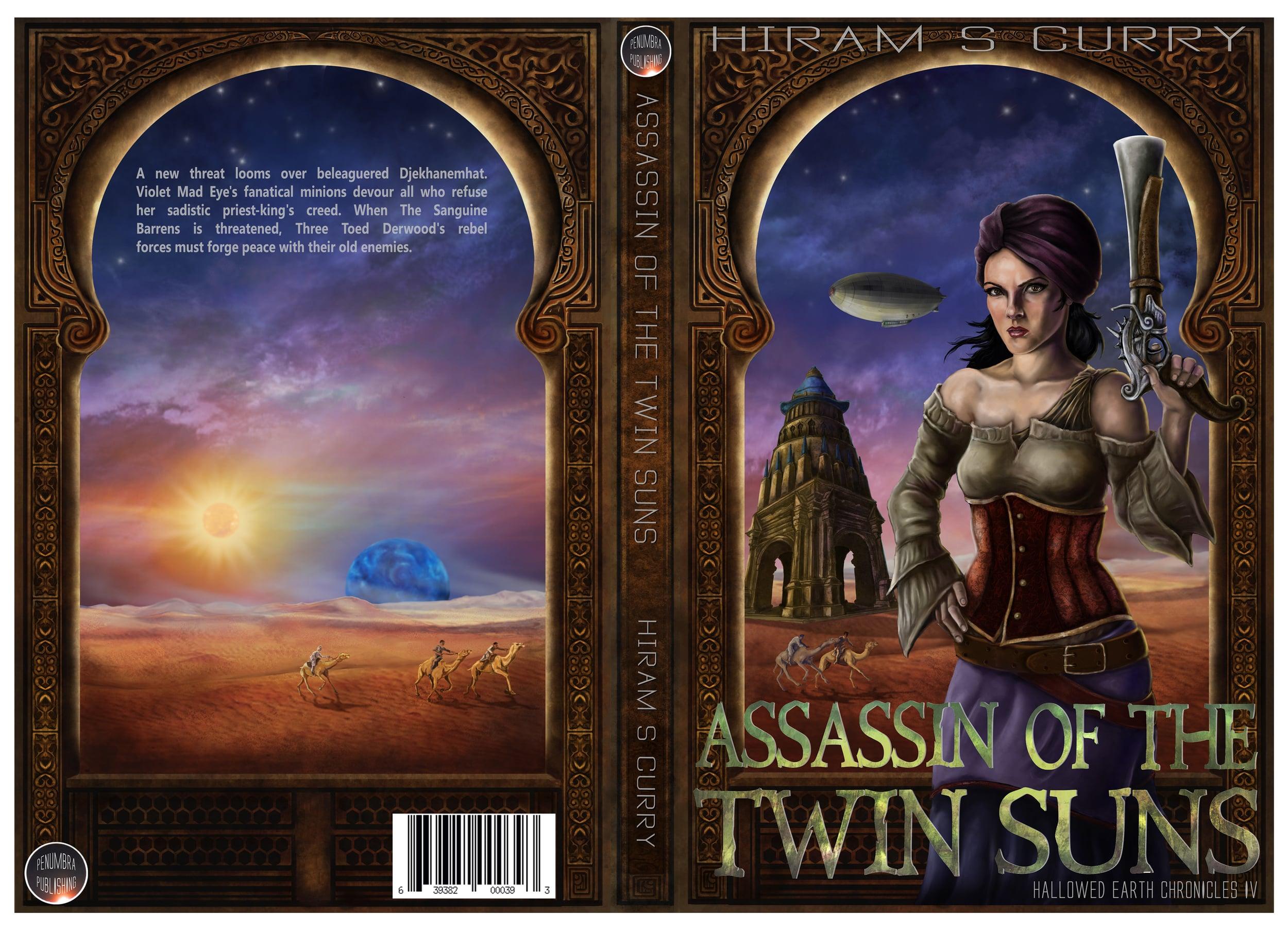 book cover - digital media                                                     $200