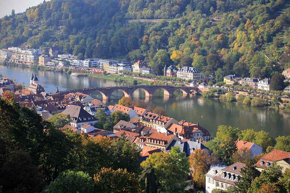 Heidelberg, Alemania. Otoño 2015.