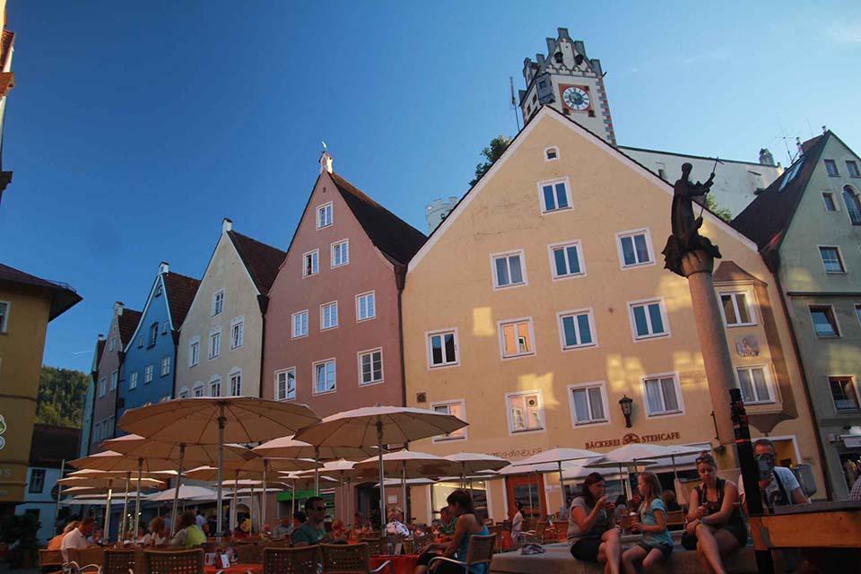 Füssen, Alemania. Verano 2013.