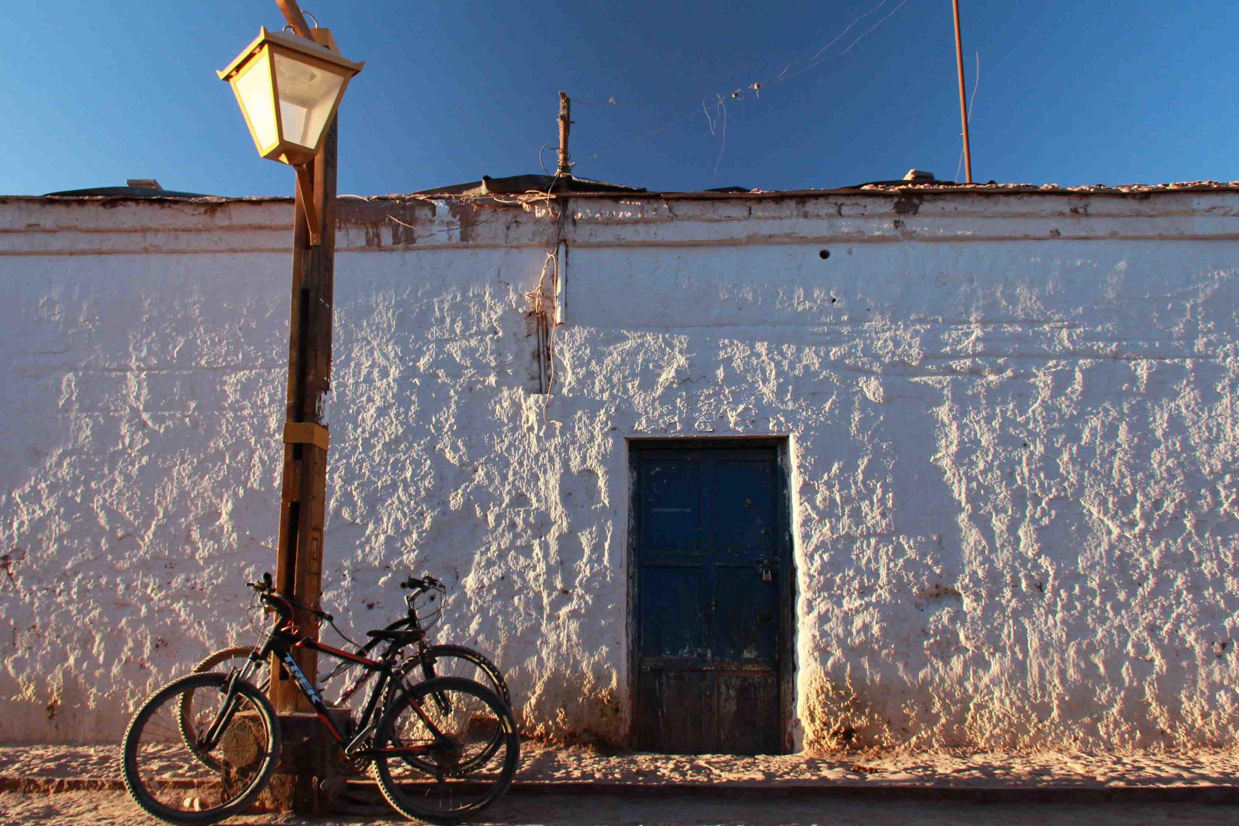 San Pedro de Atacama al atardecer