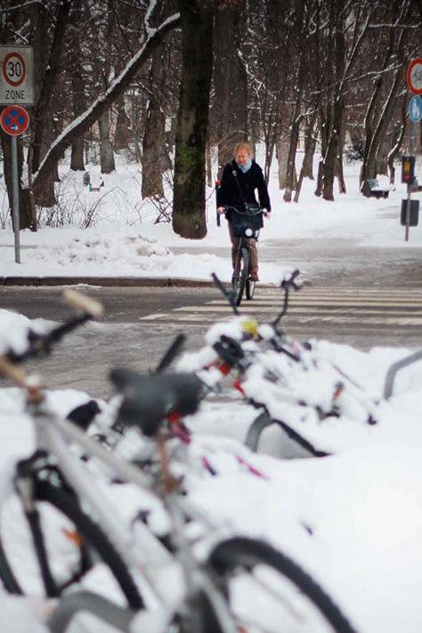 Munich, Alemania. Invierno 2013.