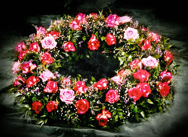 Trauerkranz Pink Rose