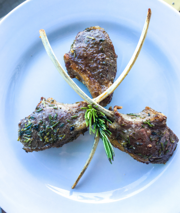 Make a wish and you shall have the most delicious rib chops in site!