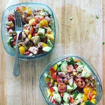 Hearty Avocado Tuna Salad