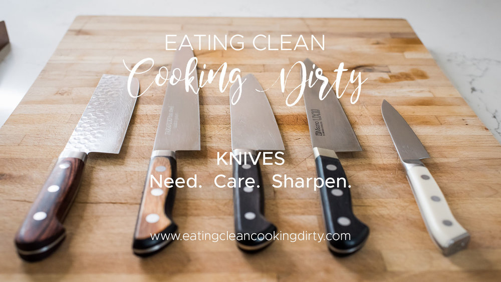 3 Must Have Knives And How To Sharpen Themblog