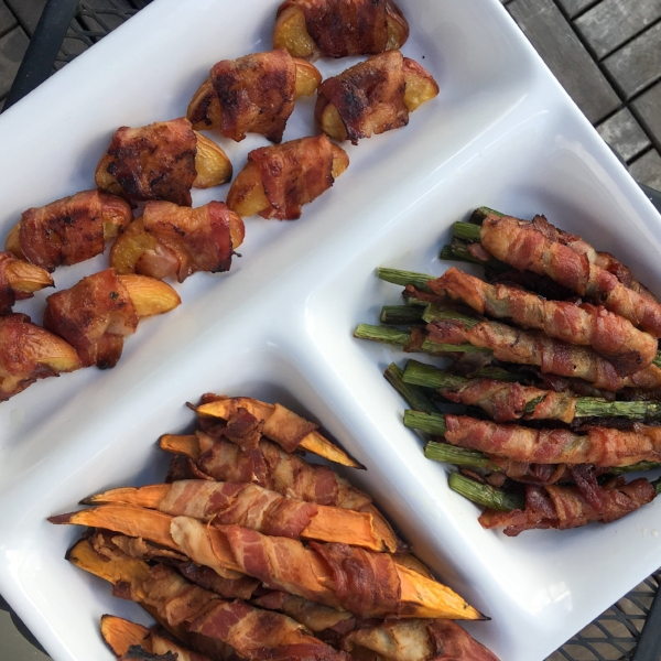 Bacon Wrapped Bites - Savory and mouth waterings