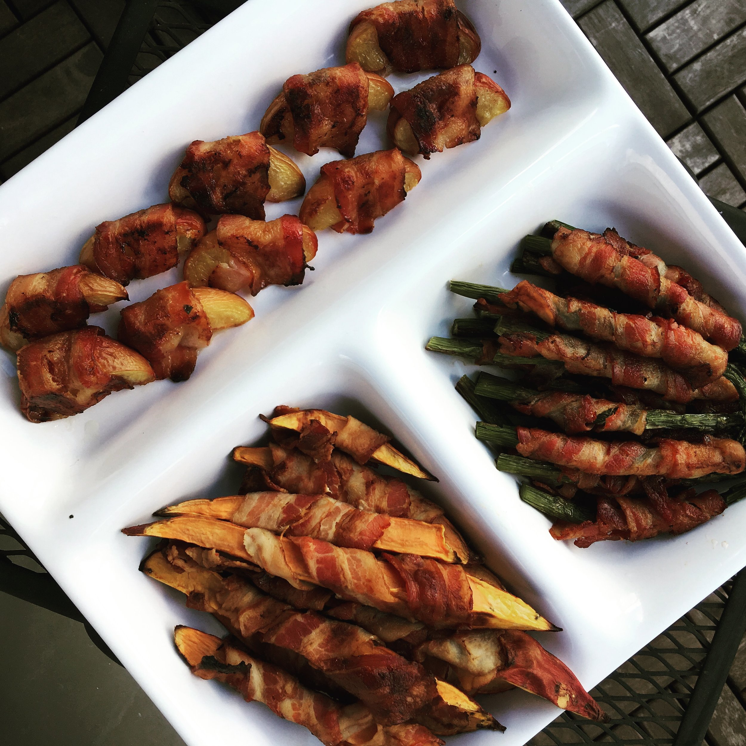 Day 4 Bacon Wrapped Bites -