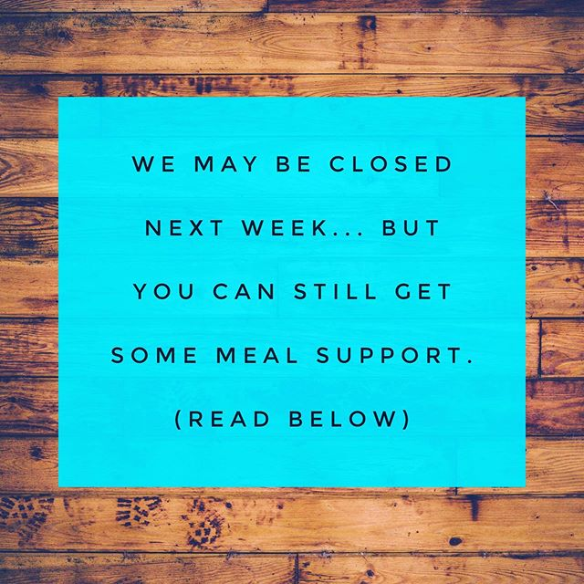 "Psst...we may be closed, but you can still get meals . If you are thinking about cooking or eating out next week and feeling a little ""ugh"" about it, we have a few options to help you out. . Sam is going to be in the kitchen cooking up awesomeness for the @hoodriverfarmersmarket . Market meals are ready-to-eat (just like our lunches), fresh and delicious.  Store them in the fridge next week and they are ready when you are. You can place an order by sending a message via @instagram or email service @ localrhoots.com (menu below), pickup Saturday at the market, or from the fridge at Riordan Hill. . This weeks market menu: Grilled Pork Tenderloin & Vegetables on Jasmine Rice with a Honey Mustard Dressing, $10 . Pesto Chicken with a Garlic Scape Potato Salad, $10 . Bento Box filled with a protein, local vegetables and fruit and house-made gummies, $6 . Sweet Potato Pudding, 8-oz, $3 .  Gummies (flavor TBD), 10 for $5 . In addition, we also have frozen gourmet soups made in-house.  Pho with Beef, $14 Vegan White Bean and Kale, $14 Simply Fine Gourmet Bone Broth, $12.99 . Stress less, eat well and spend more time doing the things you love.💚"