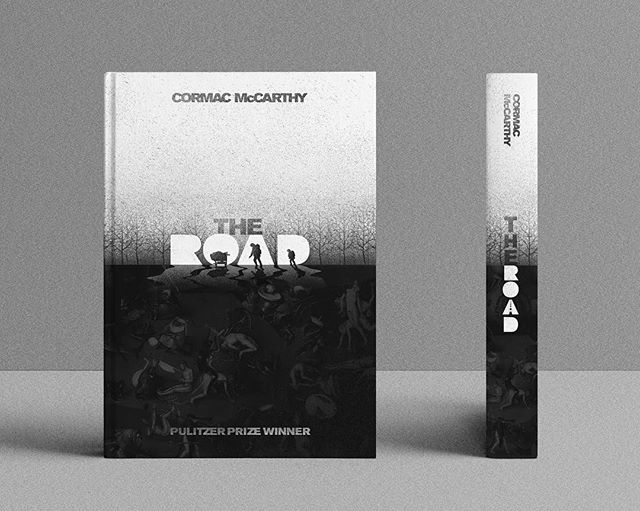 Redesigned book cover for one of my favorites. For me, it's a super quiet book that's all about the battle against succumbing to darkness. . . . #badgedesign #dribbble #behance #graphicdesign #flatdesign #creative #graphics #pixel #art #illustrator #adobe #photoshop #design #typography #goodtype #graphicdesigner #graphicgang #heironymusbosch #bookcoverdesign #cormacmccarthy