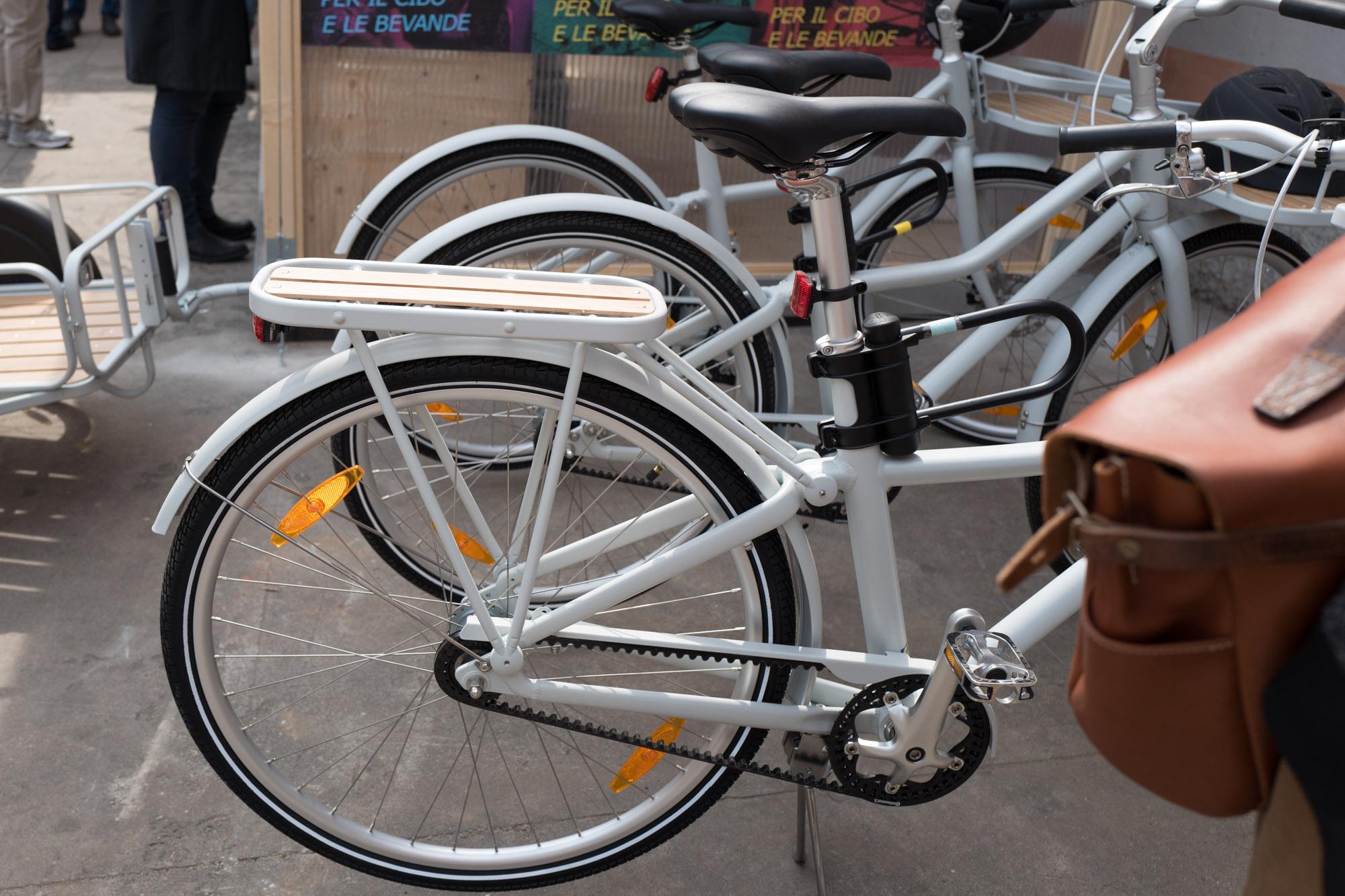 Un vélo loin d'être honteux.