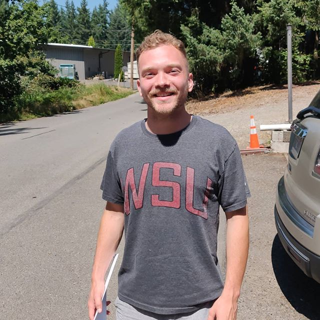 Another summer painter is heading back to college. Good luck and best wishes Drew! You are one heck of a painter and we will miss you. #GoCougs #WSU  Drew has been with Flying Colors for 3 summers and we are excited and blessed to be a part of his story.