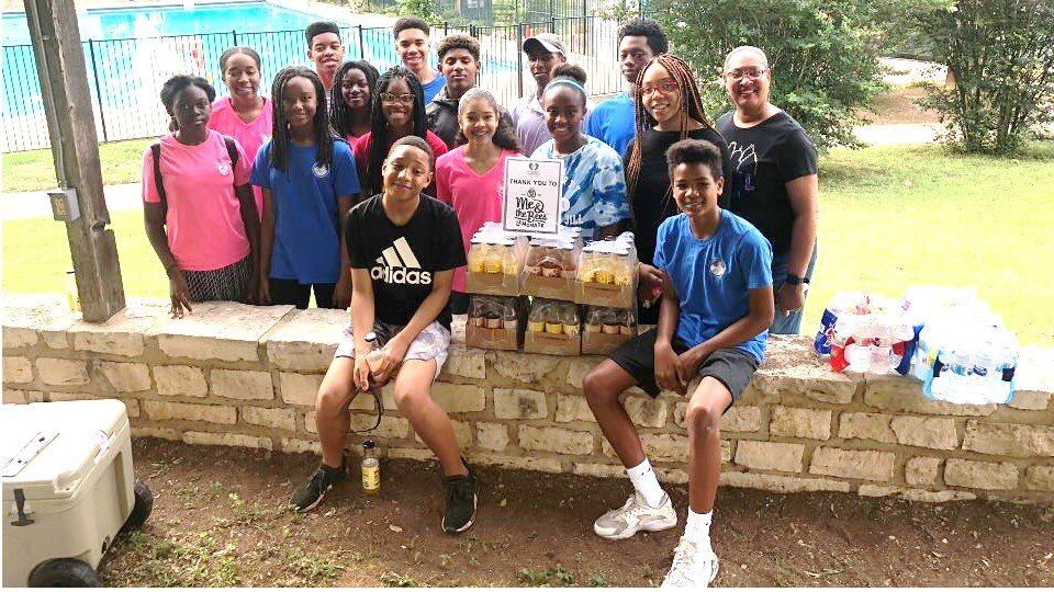 Sickle Cell Awareness - The Austin Chapter Teens volunteered at the Walk for Sickle Cell on June 1, 2019 at the Doris Miller Auditorium in East Austin. The community-wide event raises funds and awareness for the chronic disease of Sickle Cell Anemia, which disproportionately affects African Americans.