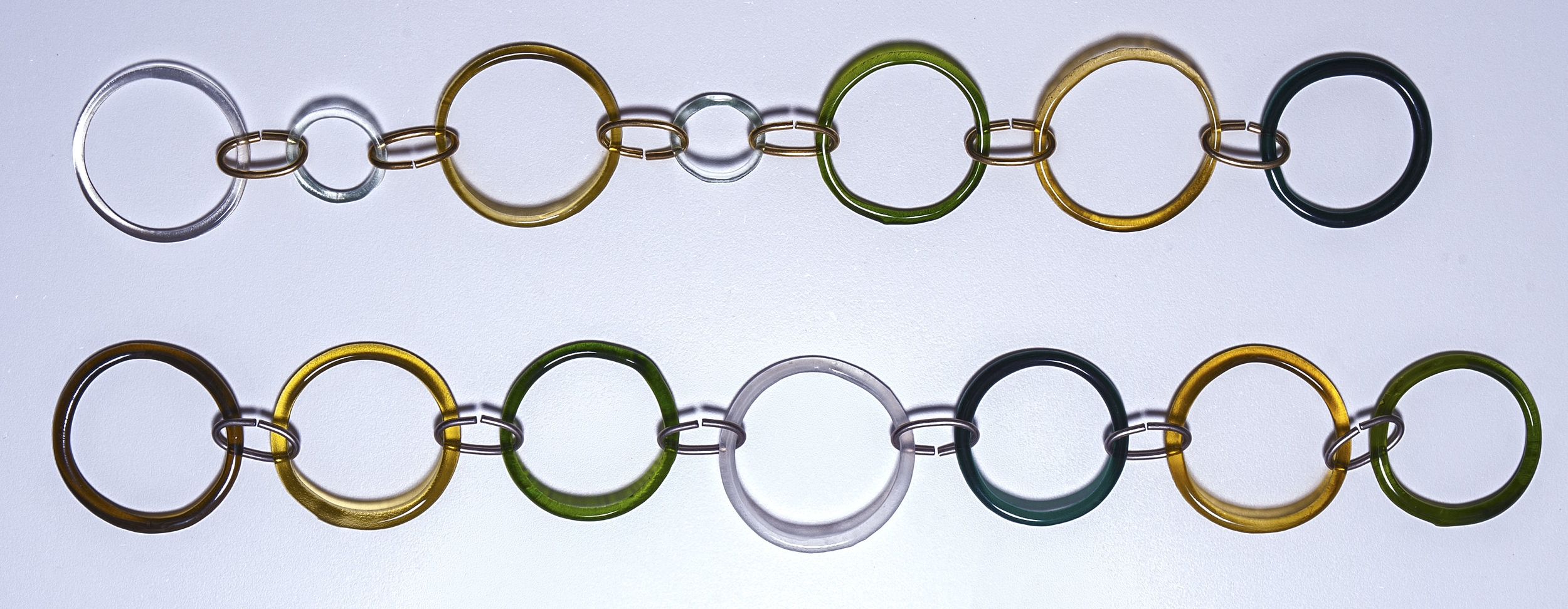Brass Oval or Silver Oval