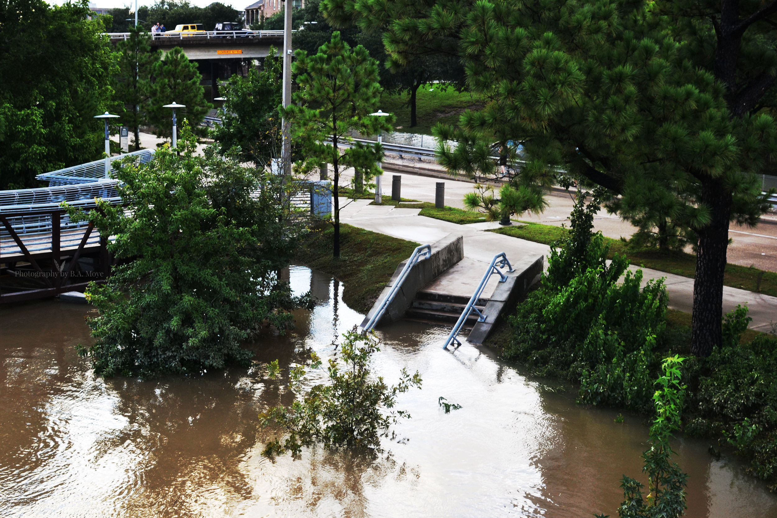 Stairway to Floodwaters