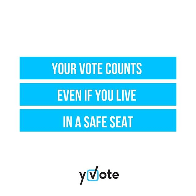 Y Voter Charlotte continues her work on the power of your vote... and explains in several, quick posts, how your vote makes a difference...⠀⠀ ⠀⠀ Even if you live in a safe seat (an electorate that has been repeatedly won by a particular candidate or party), your vote still affects the outcome in the Federal Senate and many of the upper houses of the State parliaments (Australian Parliament follows a two-house or bi-cameral system). ⠀⠀ ⠀⠀ More explained at link in bio 🗳