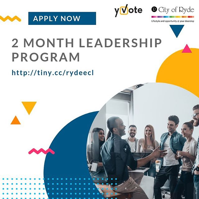 Wooowoo exciting news! 🎉Applications are now open for the Emerging Civic Leaders program in Ryde, NSW! If you live, work or study in the area (👋 hey there @macquarieuni students - this counts towards GLP!) this funded opportunity might be for you. More info   link in bio