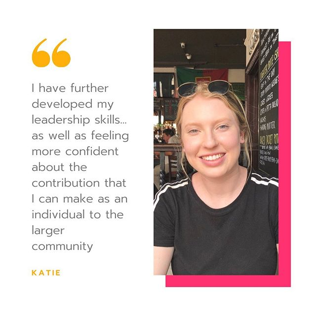 Struggling with feeling so overwhelmed by the magnitude and number of global issues facing our generation that you don't know where to begin taking action? This is something we hear from heaps of our Emerging Civic Leader applicants like Katie.⠀ 💫⠀ But Katie decided to do something about that and is one of our Emerging Civic Leader grads that not only built the confidence and experience needed to lead change in her community, but is now leading one of our next cohorts! ⠀ 💥⠀ If you're keen to do the same, apply for our Emerging Civic Leaders program now!⠀ 🤳🏾⠀ Applications open at @ryde2vote and @cityofsydney link in bio