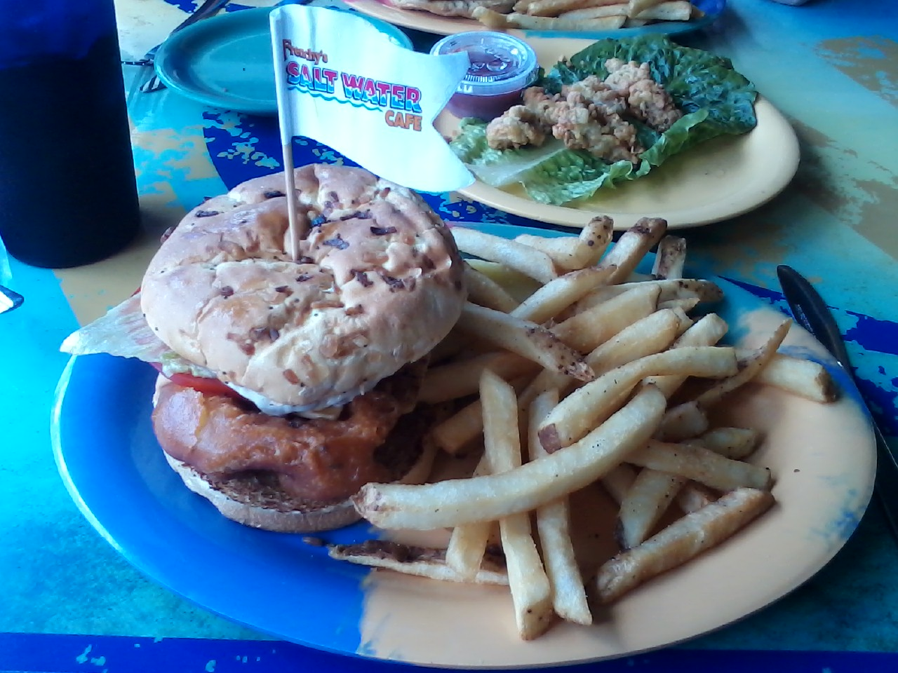 grouper burger
