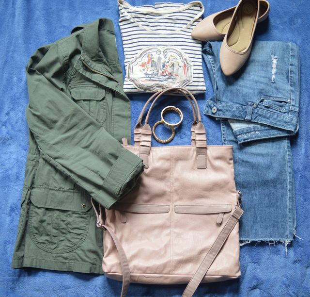 flat lay - spring trend ideas