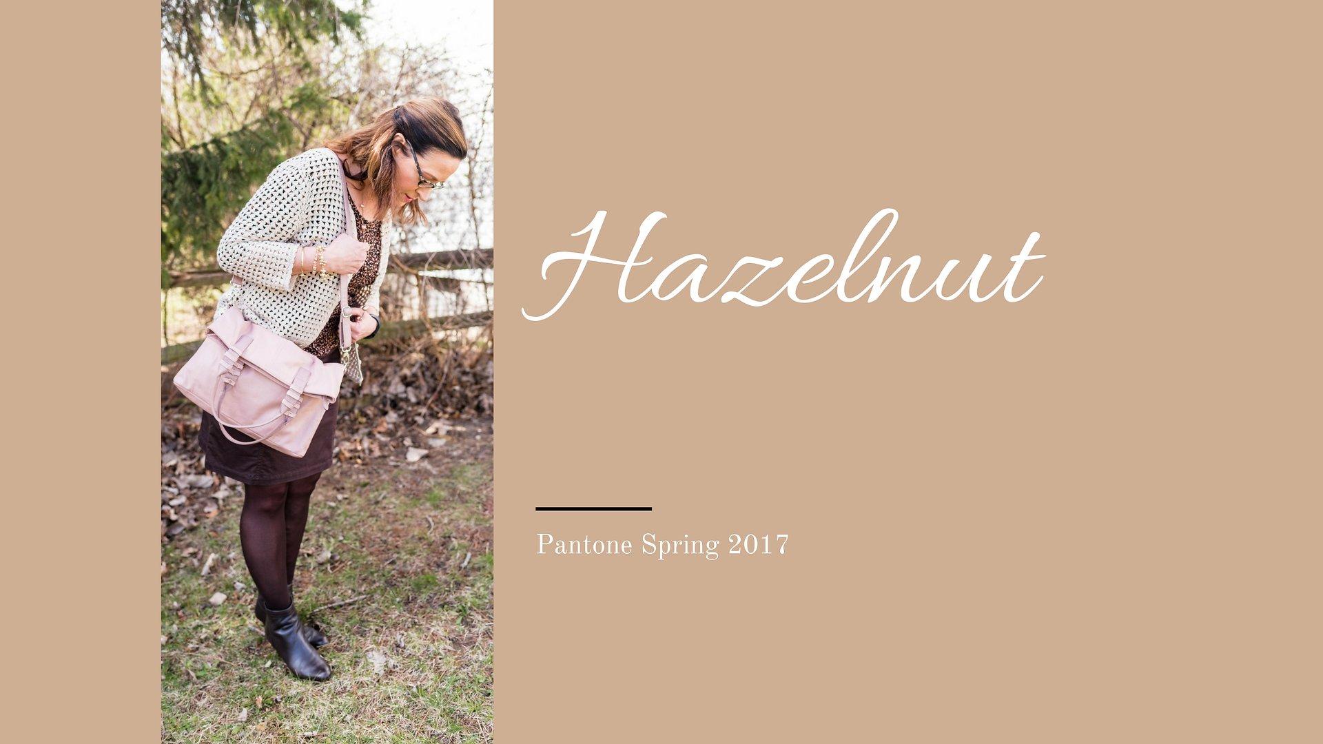 Pantone Spring 2017 - Hazelnut