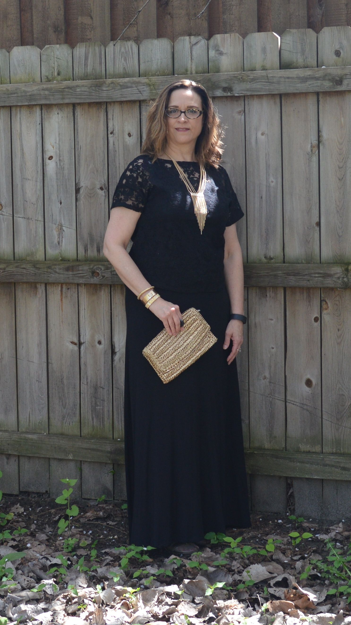 Monochrome outfit - black hue