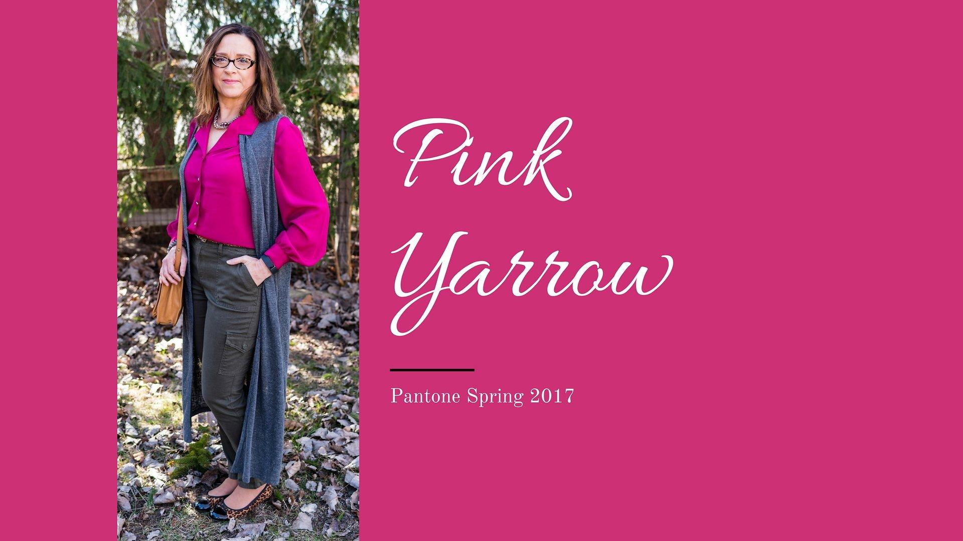 Pantone Spring 2017 - Pink Yarrow