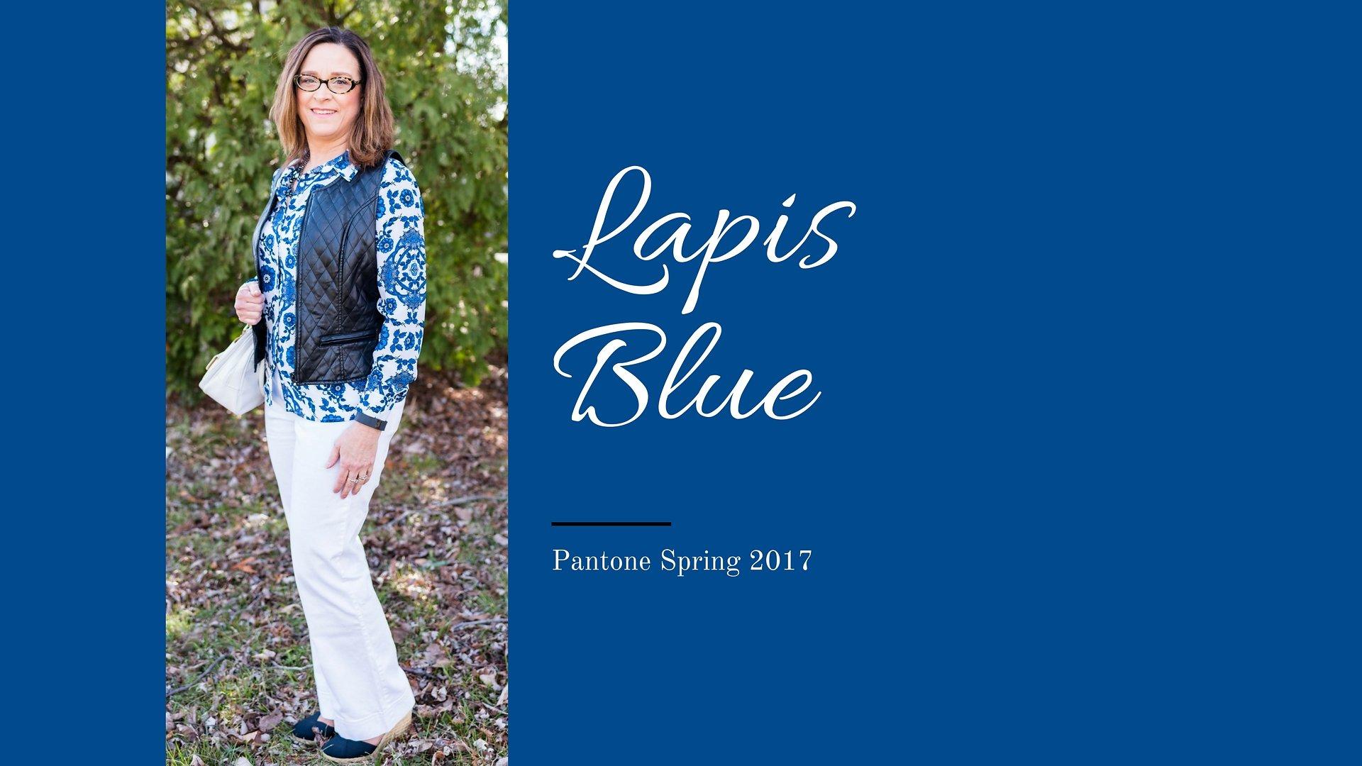 Pantone Spring 2017 - Lapis Blue
