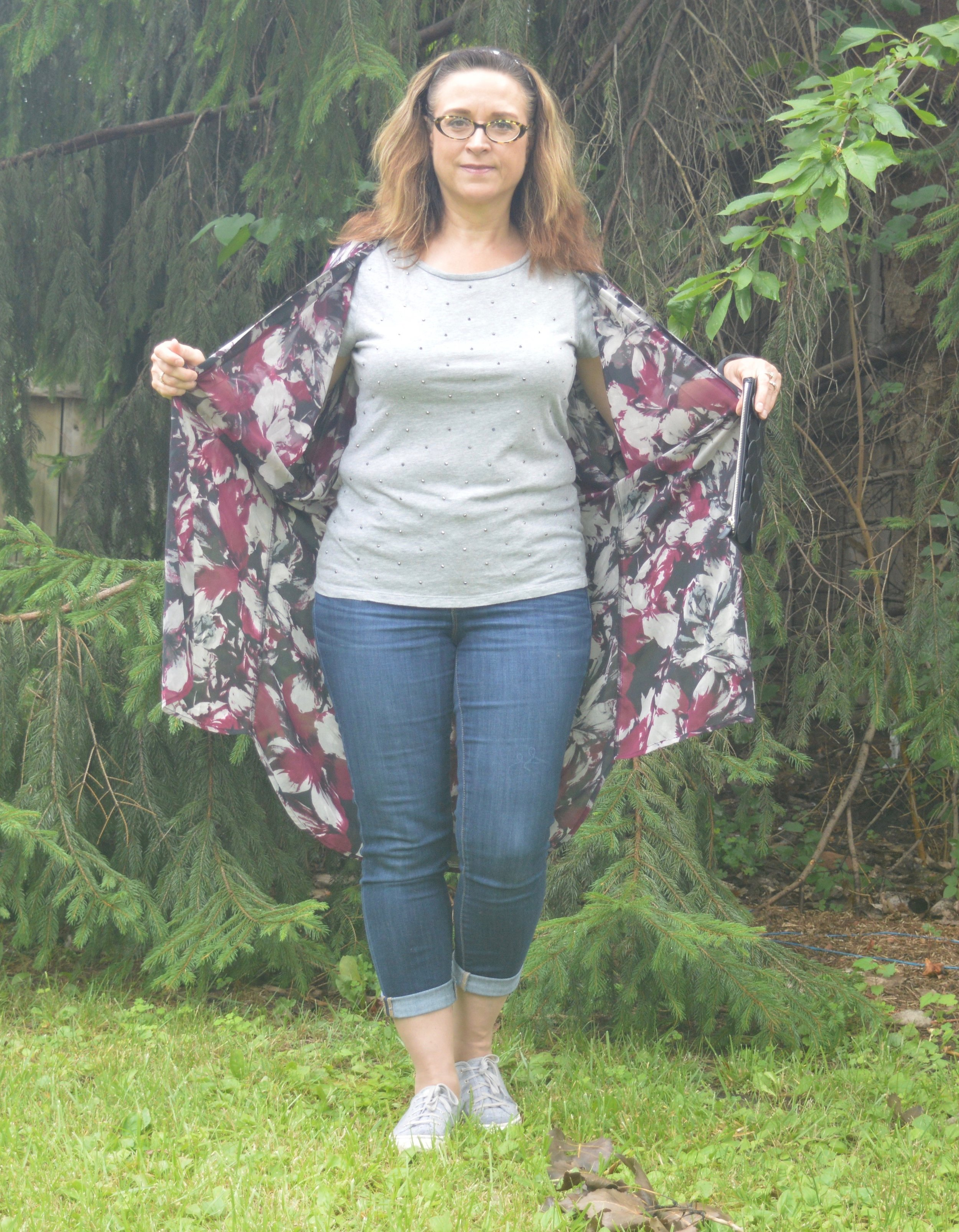 styling a kimono for summer
