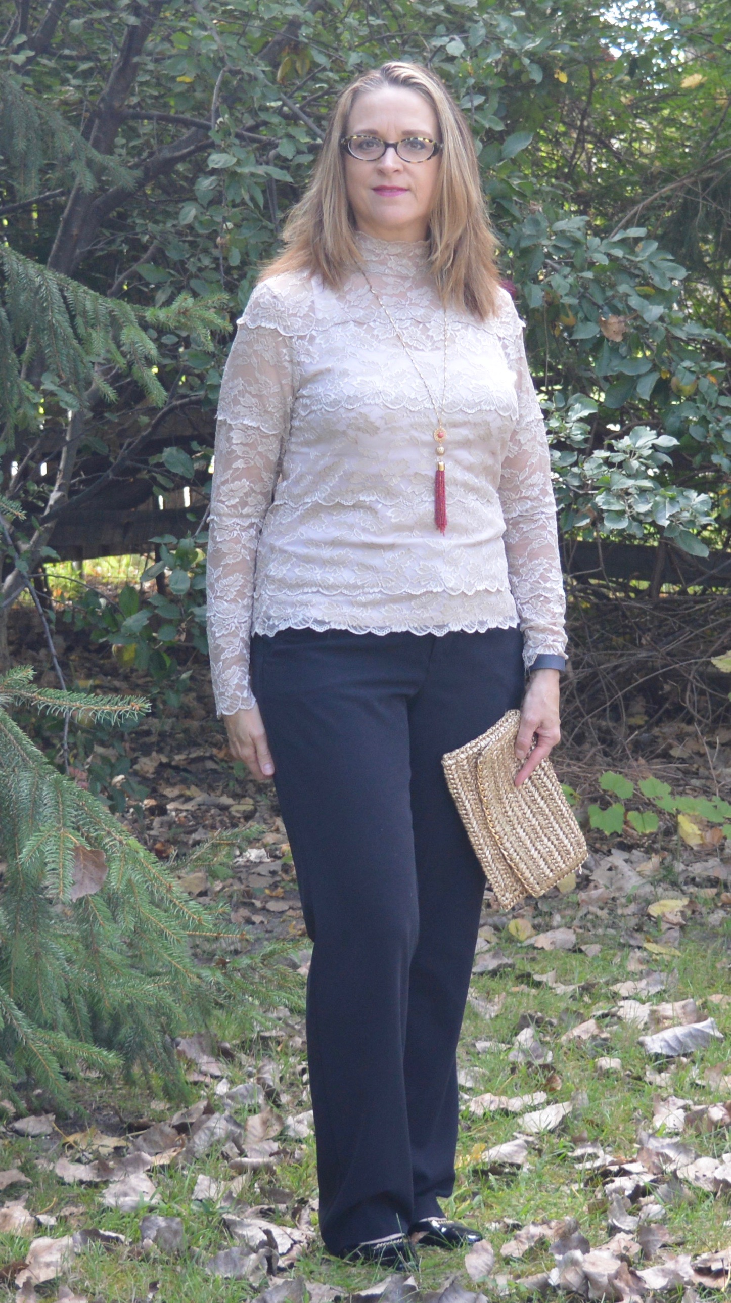 lace top for fall