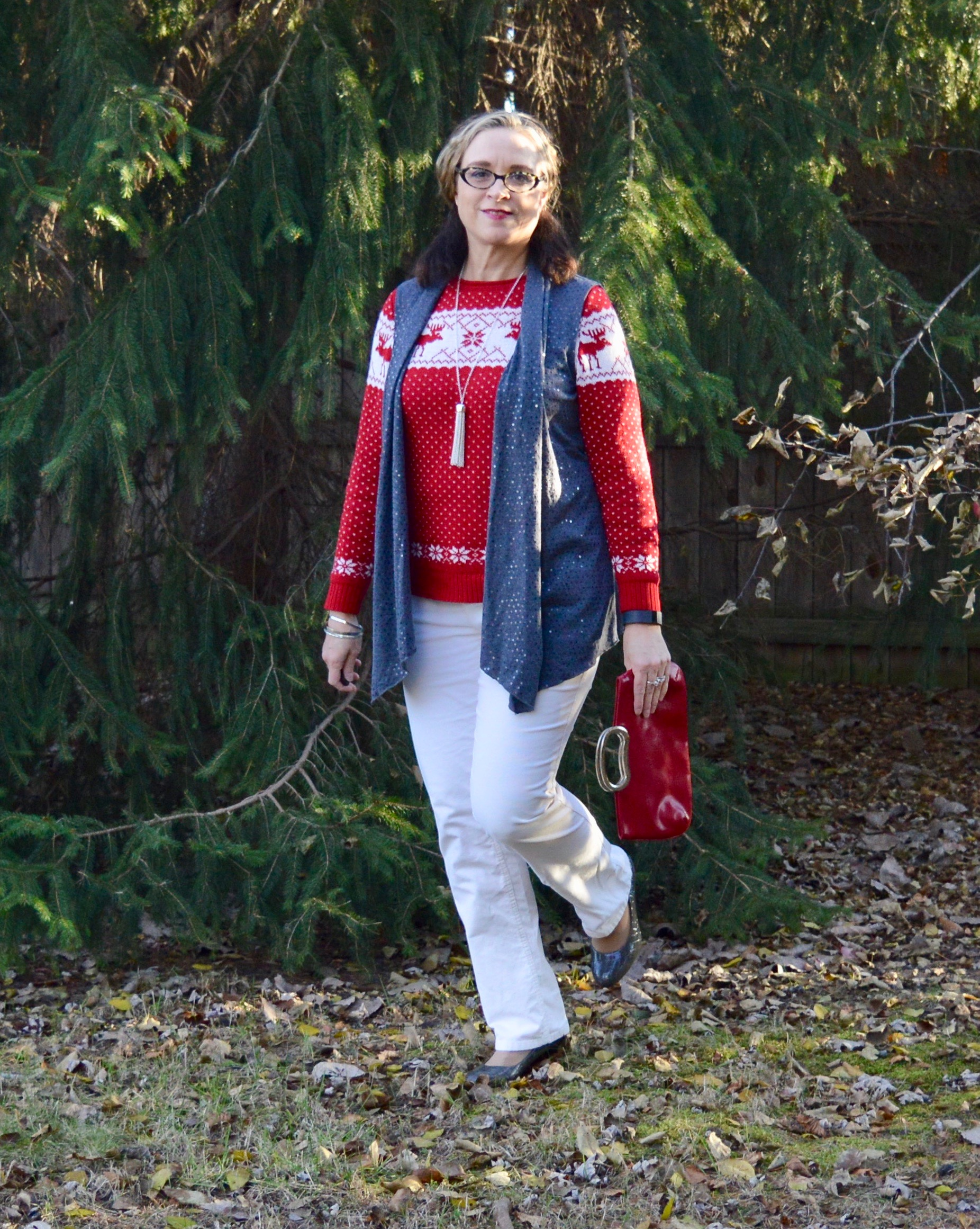 Layering love - Christmas outfit
