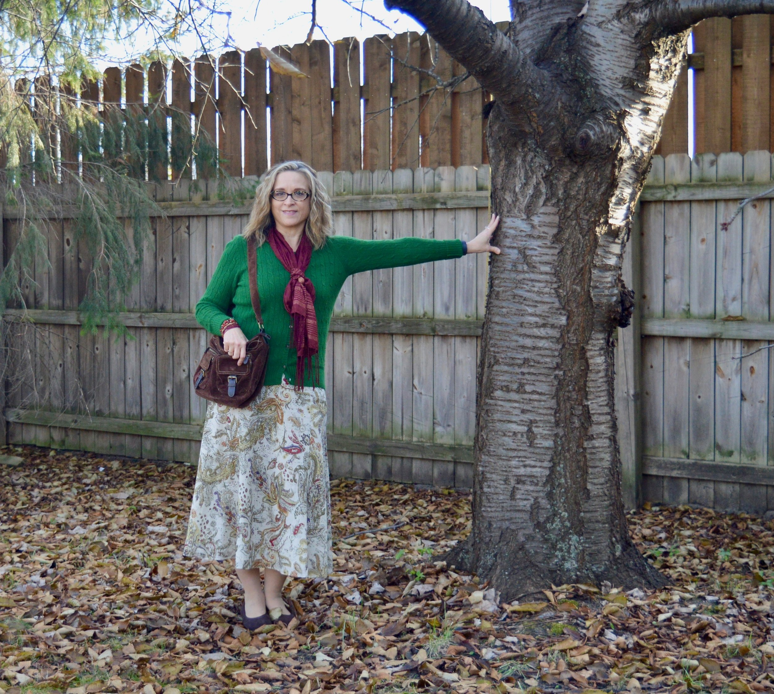 Layering Love - styling a summer skirt