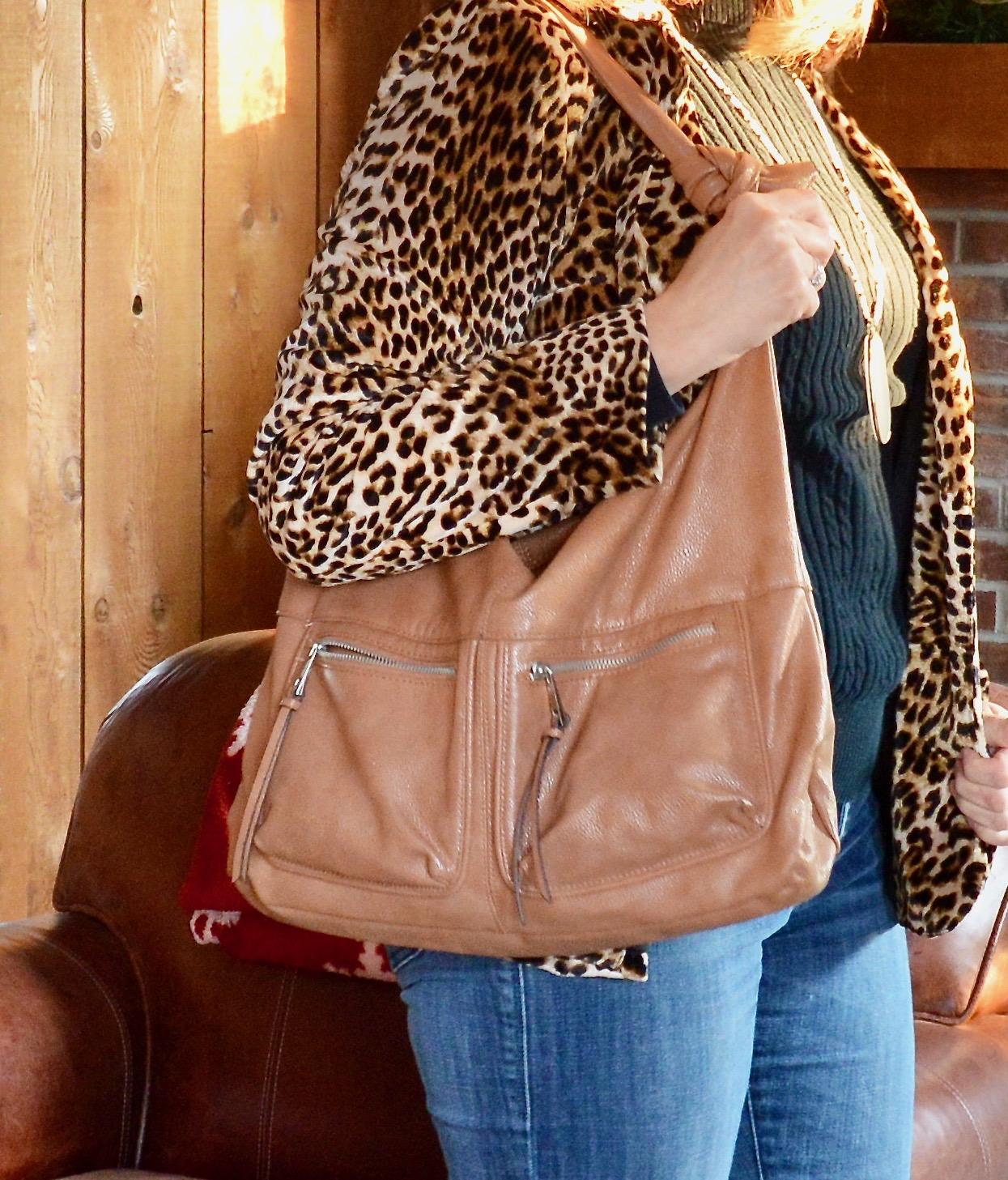 Layering love - leopard print jacket