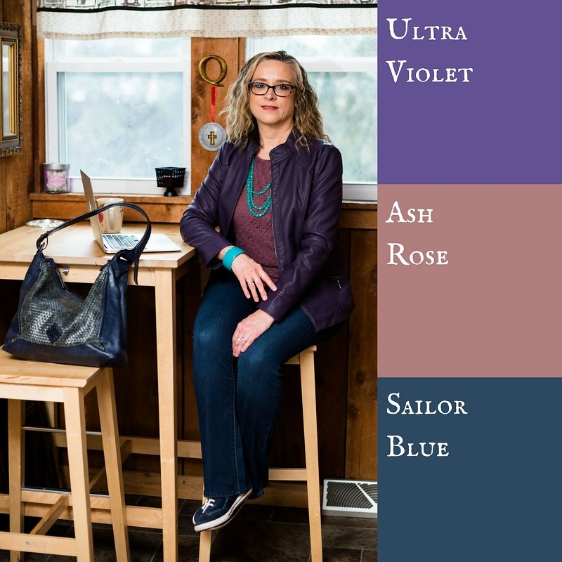 Pantone Spring 2018 - Ultra Violet, Ash Rose and Sailor Blue
