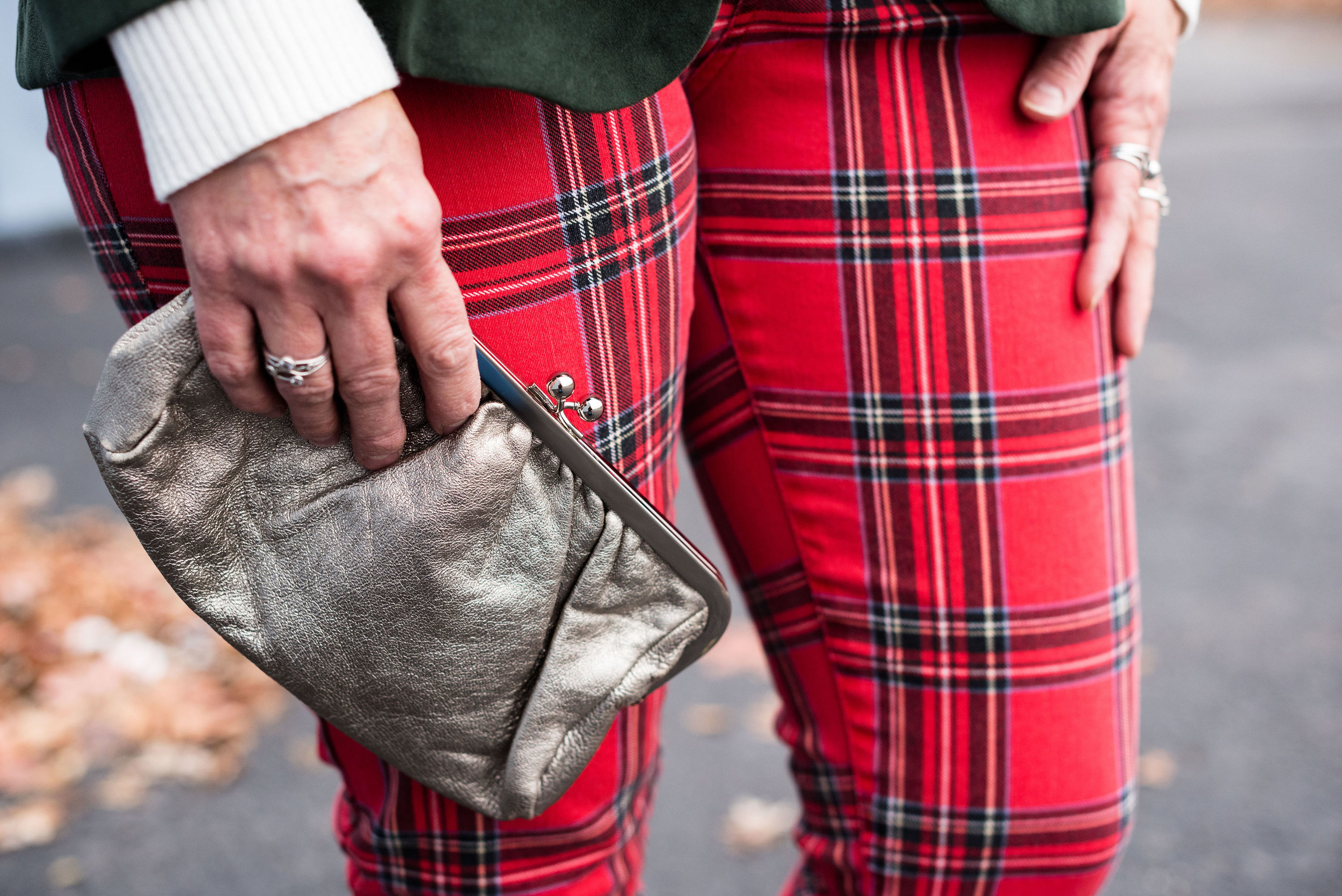 20 Days of Christmas - plaid pants